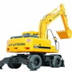 Услуги однокошового экскаватора Hyundai