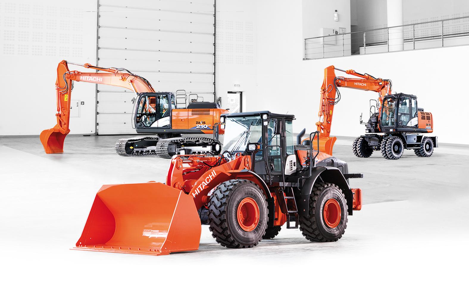 Мини-экскаваторы гусеничного типа производства Hitachi Construction Machinery